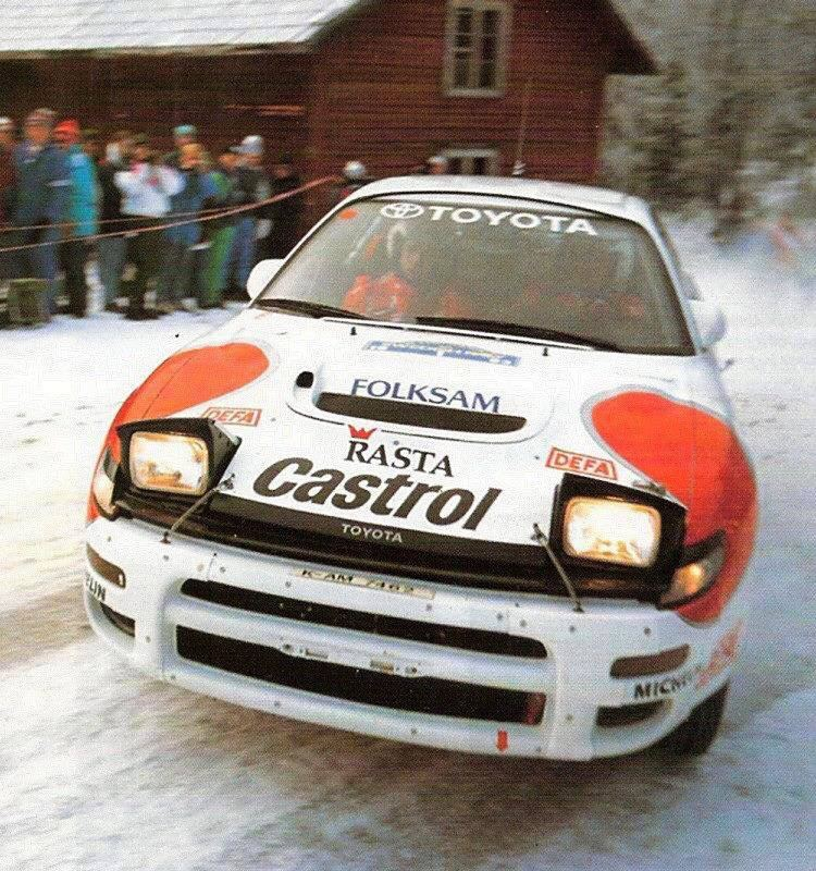 Mats Jonsson (rally driver) Mats Jonsson Rally cars Pinterest Rally car and Toyota celica
