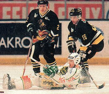 Mats Thelin Kristian Gahn AIK r hockey hockey r AIK
