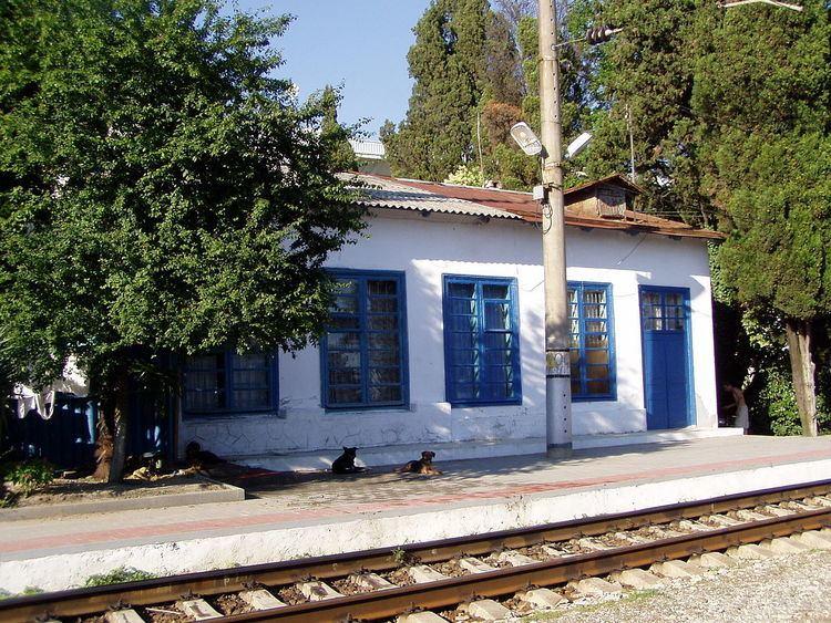 Matsesta railway station