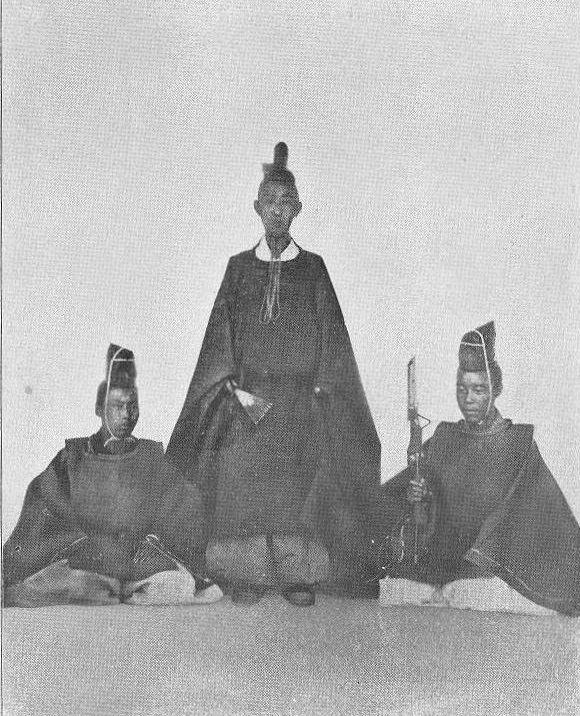 Matsudaira Katamori Matsudaira Katamori of Aizu center in the late spring of 1867