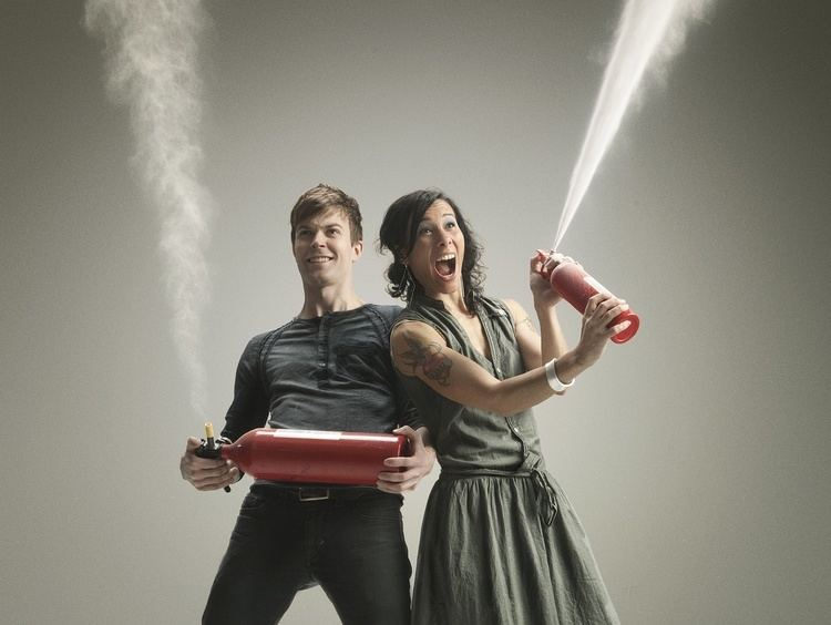 Matt and Kim IndiePop Duo Matt and Kim Return With New Glow