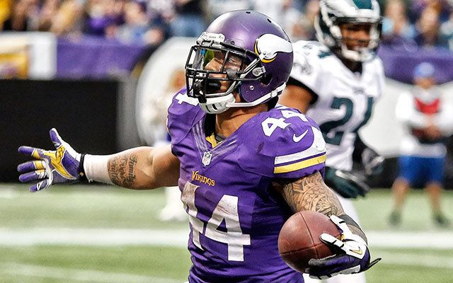 Matt Asiata Vikings Corner Matt Asiata 39This training camp is not easy39