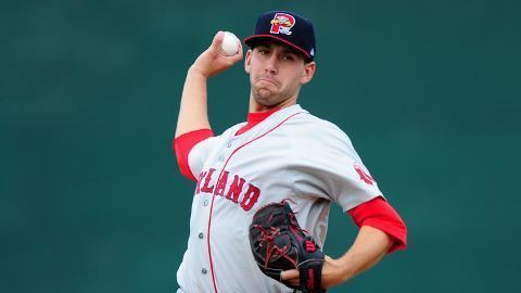 Matt Barnes (baseball) Red Sox top pitching prospect Matt Barnes earns first