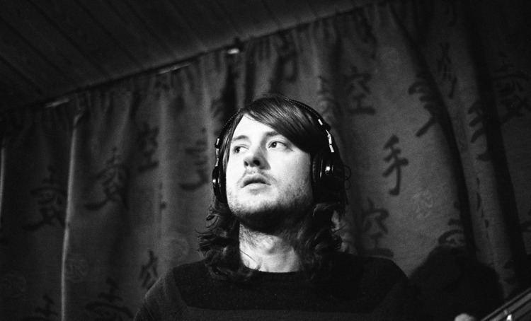 Matt Bigland Matt Bigland of Dinosaur Pile Up in the studio The