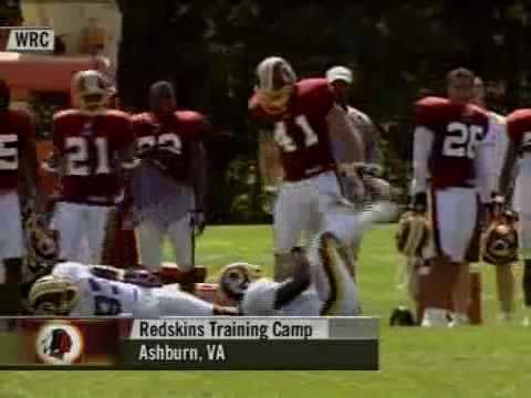 Matt Bowen (American football) 2003 Redskins Matt Bowen Drills Trung Candidate YouTube