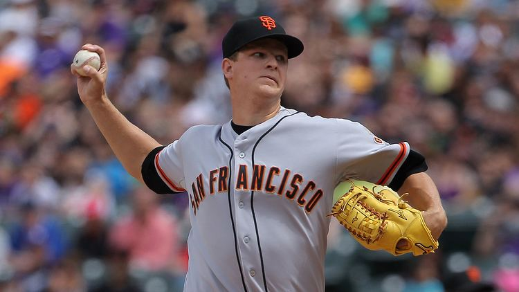 Matt Cain Giants pitcher Matt Cain scratched after cutting finger pregame