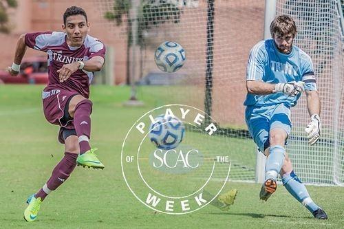 Matt Cardone Yuri Ribeiro and Matt Cardone Earn SCAC Mens Soccer Player of the