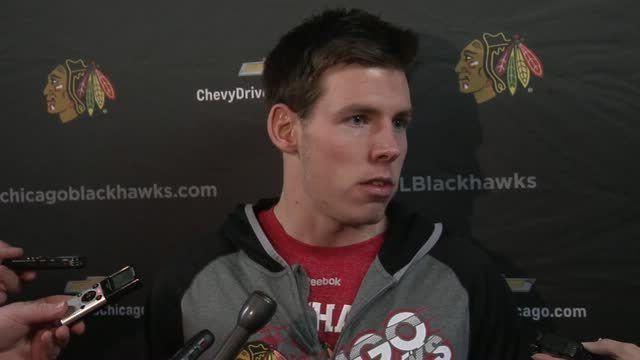 Matt Carey Meet Matt Carey Video NHL VideoCenter Chicago Blackhawks