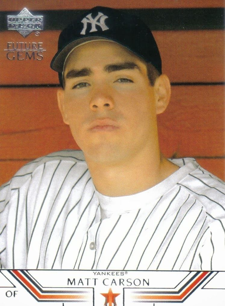 Matt Carson (baseball) Tubbs Baseball Blog Matt quotCrashquot Carson Has His quotThrill