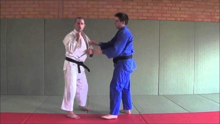 Matt D'Aquino Double Lapel Grab throw options with Judo Olympian Matt D39Aquino
