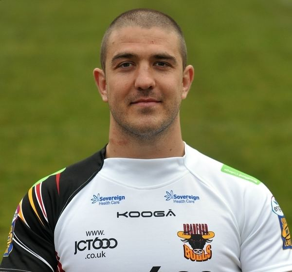 Matt Diskin L39Estrange and Diskin named joint Bradford Bulls captains