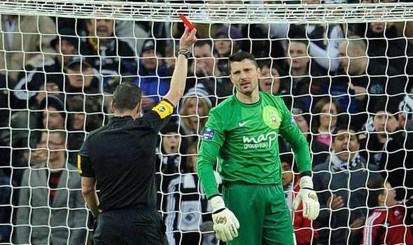 Matt Duke Matt Duke reaches out for a Bradford City painkiller