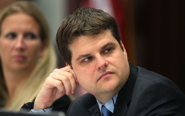 Matt Gaetz Matt Gaetz about to draw a serious challenger for Senate