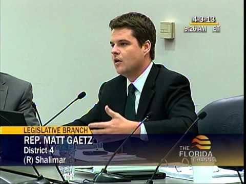 Matt Gaetz Rep Matt Gaetz Unborn Child Debate Apr 3 2013 YouTube