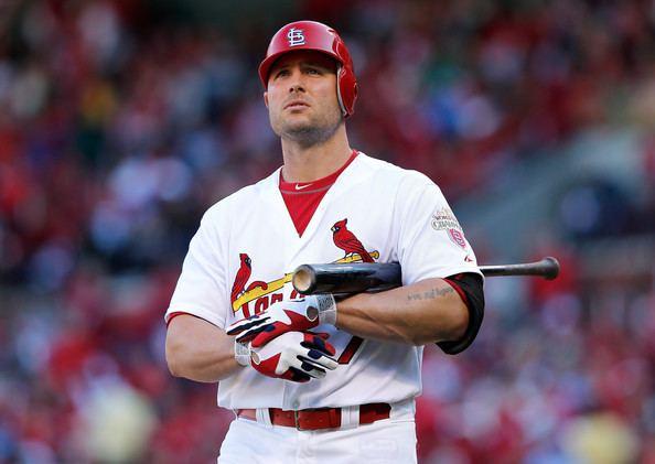 Matt Holliday The Return of Matt Holliday Cardinal Red Baseball