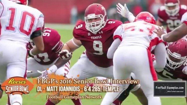Matt Ioannidis FBGP39s 2016 Reese39s Senior Bowl Interview Matt Ioannidis YouTube