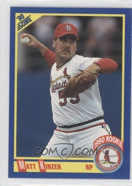 Matt Kinzer 1990 Score Base 628 Matt Kinzer COMC Card Marketplace