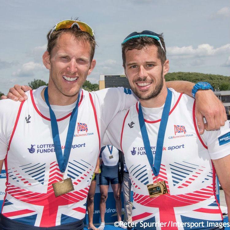 Matt Langridge James Foad British Rowing