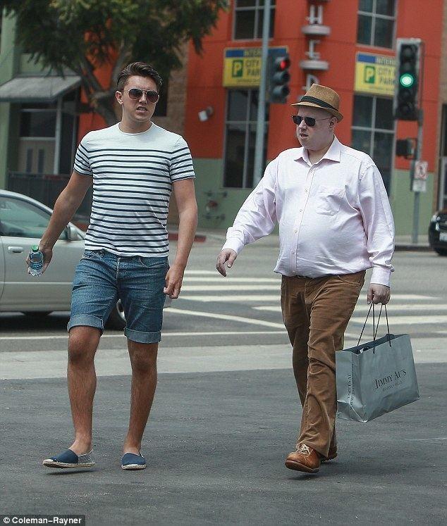 Matt Lucas Matt Lucas 41 hits the shops with new toyboy boyfriend Luke Upton