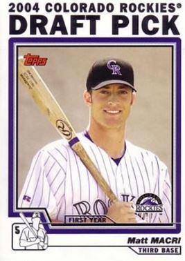 Matt Macri Matt Macri Baseball Statistics 20022011