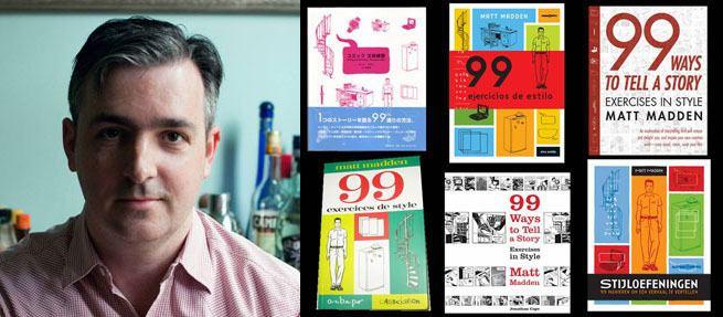 Matt Madden Event Reminder Matt Madden39s Oulipo Talk and Workshop