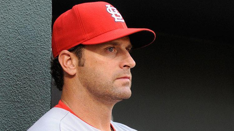Matt Matheny St Louis Cardinals manager Mike Matheny reflects on HBP