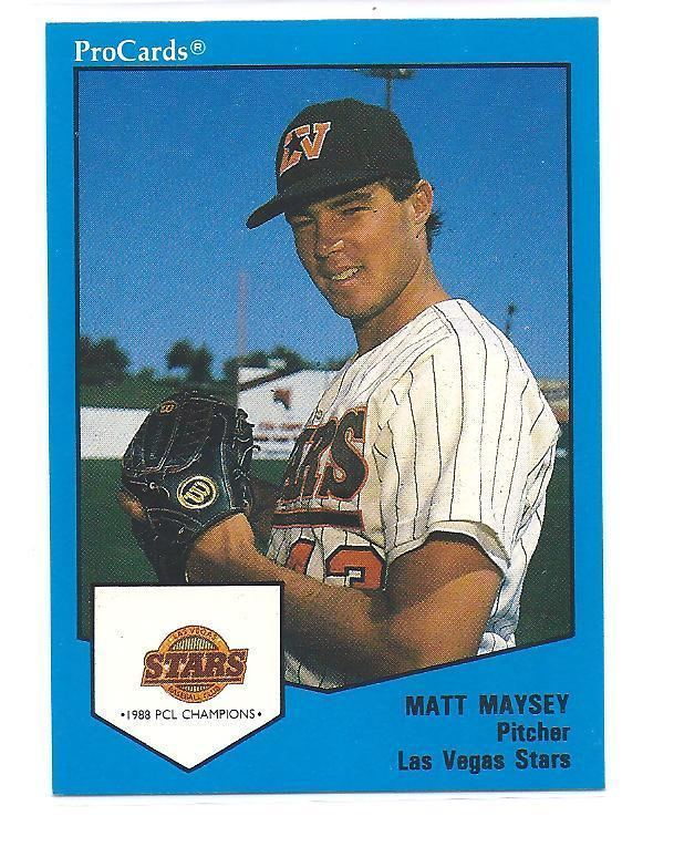 Matt Maysey Bleedin Brown and Gold Minor League Monday P Matt Maysey
