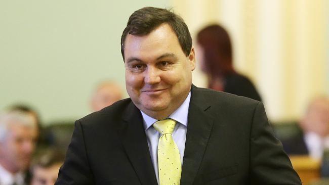 Matt McEachan Redlands MP Matt McEachan praises former premier Campbell Newmans