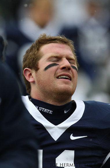 Matt McGloin Penn State starting quarterback Matt McGloin injured in an