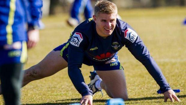 Matt McIlwrick Canberra Raiders Matt McIlwrick locks down position with