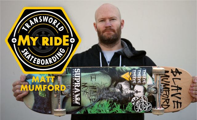 Matt Mumford Matt Mumford TransWorld SKATEboarding