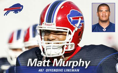 Matt Murphy (American football tackle) Buffalo Bills Matt Murphy