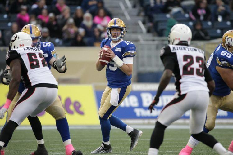 Matt Nichols Bombers ReSign QB Matt Nichols Winnipeg Blue Bombers