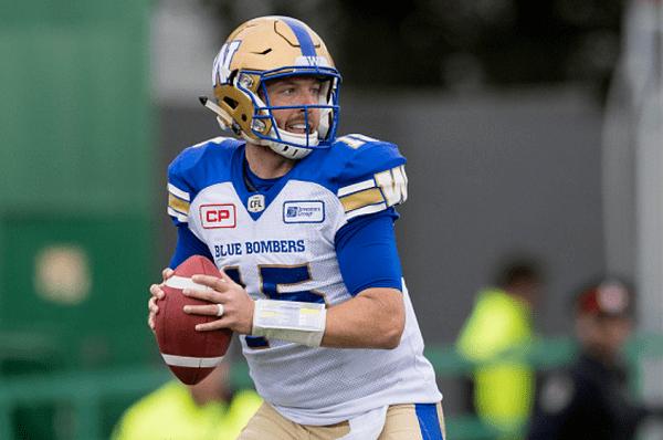 Matt Nichols Winnipeg Blue Bombers Build on Matt Nichols Add Depth Last Word