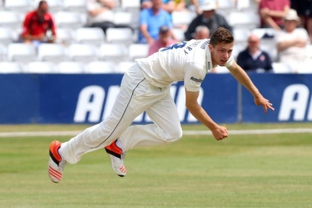 Matt Salisbury Salisbury stunned by Hampshire heroics Cricket Romford Recorder
