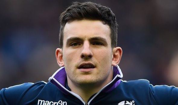 Matt Scott (rugby union) Matt Scott says underdog status will spur Scotland on