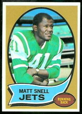 Matt Snell Matt Snell 1970 Topps 35 Vintage Football Card Gallery