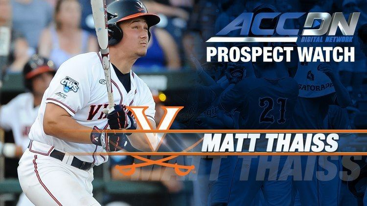 Matt Thaiss Angels Take UVA C Matt Thaiss 16th In MLB Draft YouTube