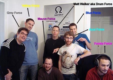 Matt Walker (drummer) Matt Walker aka Drum Force Ohm Force hearquarter