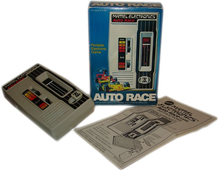 Mattel Auto Race Auto Race Mattel quotThe first electronic game Its first r Flickr