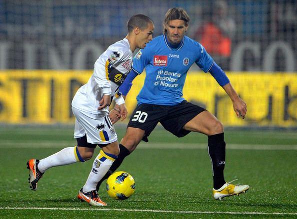 Matteo Centurioni Sebastian Giovinco Pictures Novara Calcio v Parma FC