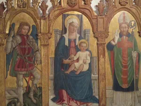 Matteo Cesa Matteo Cesa Madonna con Bambino tra i santi Michele e Tiziano