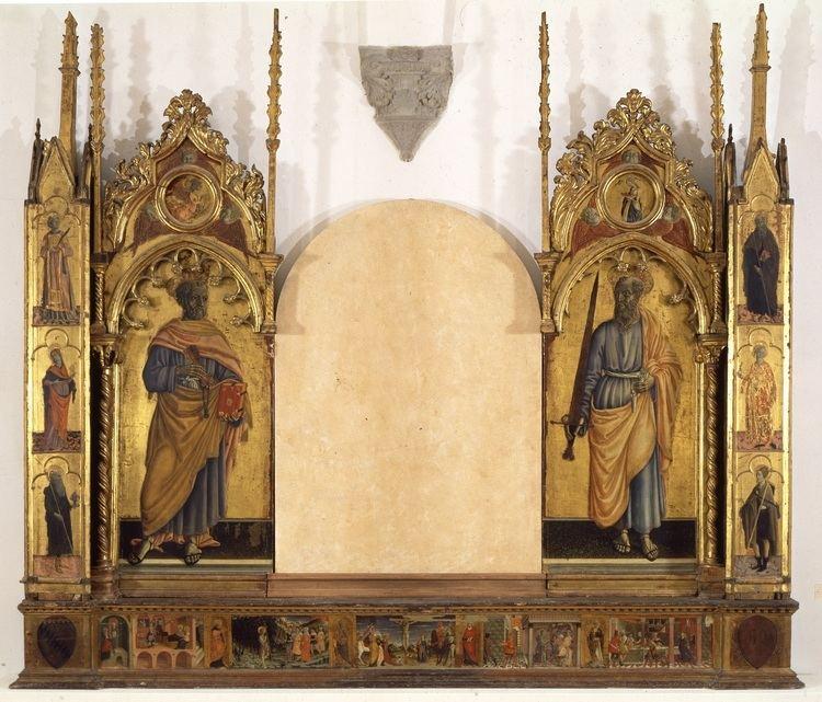 Matteo di Giovanni Matteo di Giovanni Pala dei Santi Pietro e Paolo Museo