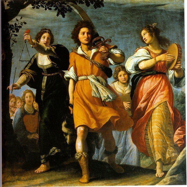 Matteo Rosselli Books and Art The Triumph of David 2 Matteo Rosselli