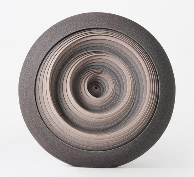 Matthew Chambers Circular Ceramic Sculptures by Matthew Chambers OEN