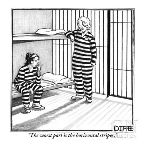 Matthew Diffee The worst part is the horizontal stripes by Matthew Diffee The