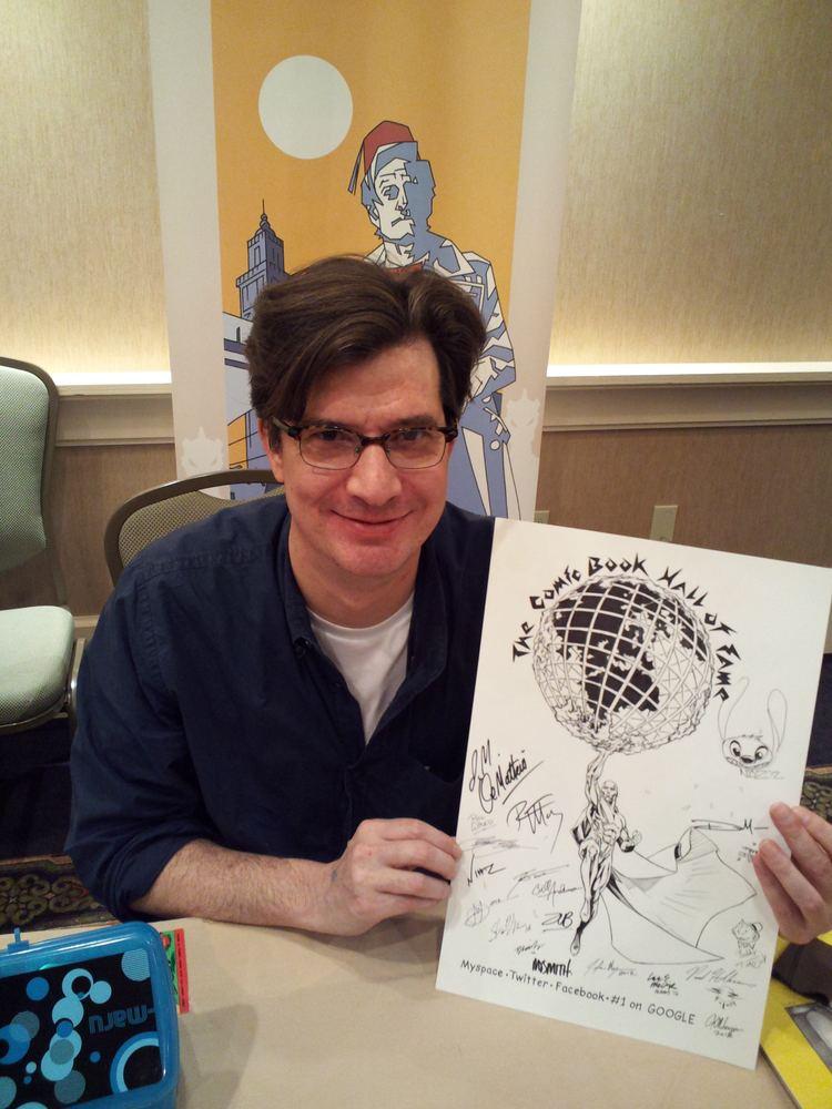 Matthew Dow Smith CBHOF Meets ArtistWriter Matthew Dow Smith