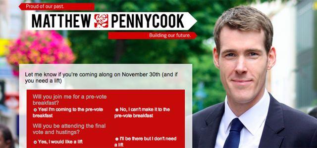 Matthew Pennycook Will breakfast boy Matt rise and shine as Labour39s winner