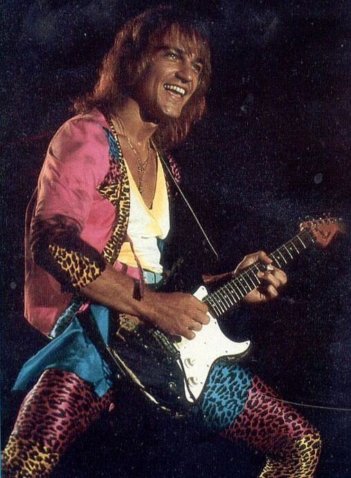 Matthias Jabs Only Matthias Jabs could look good in this outfit Scorpions