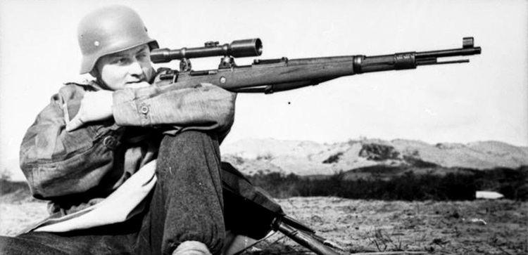 Matthäus Hetzenauer The legendary second world war snipers Matthus Hetzenauer xiwax